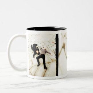 G.D. 透明な(1)マグ(15のoz) ツートーンマグカップ