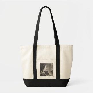 G.Fによって刻まれるLouisaキャサリンアダムス(1775-1852年) トートバッグ