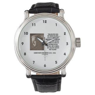 G.K. Chestertonの想像の精神異常のクリエイティブ 腕時計