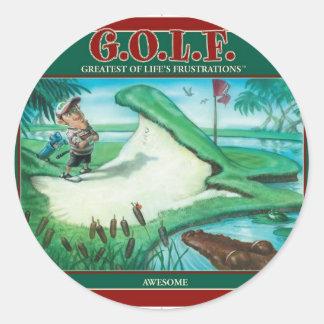 G.O.L.F. 生命の欲求不満の最も素晴らしい ラウンドシール