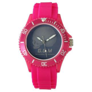 G.O.M -ピンクの腕時計 腕時計
