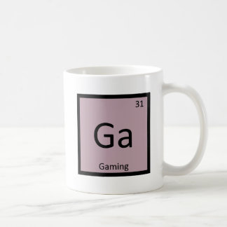 Ga -賭博のゲーム化学周期表の記号 コーヒーマグカップ