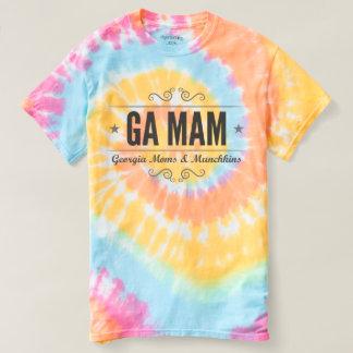GA MAMの絞り染めのティー Tシャツ