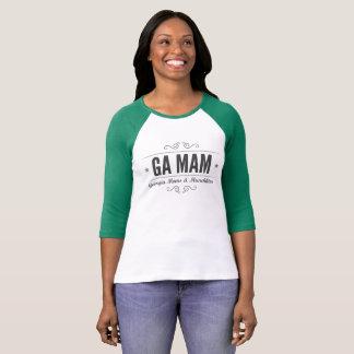GA MAMのRaglanのTシャツ Tシャツ