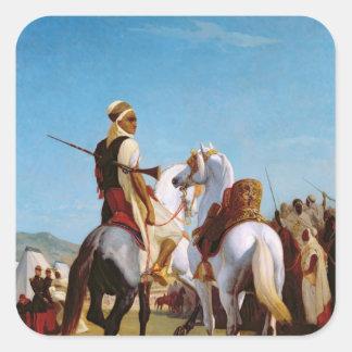 Gaadaの馬、か服従の馬 スクエアシール