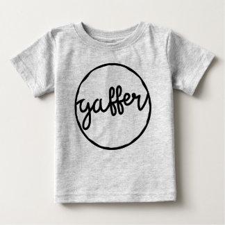 Gafferのイギリスのサッカーの俗語の方言のTシャツ ベビーTシャツ