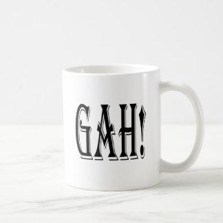 Gah! 表現メッセージ コーヒーマグカップ