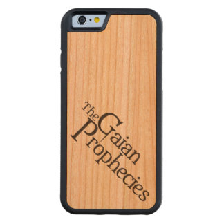 GaianのアクセントのiPhone 6 CarvedチェリーiPhone 6バンパーケース