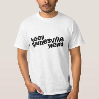 Gainesvilleを風変わり保って下さい Tシャツ