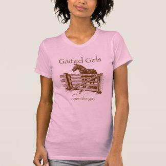 Gaited Gals茶色 Tシャツ