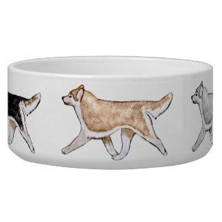 Gaitingのシベリアンハスキー犬ボール 犬用ご飯皿