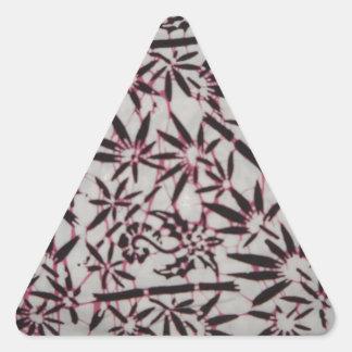 Gajah Olingのろうけつ染めのJajangのスタイル 三角形シール