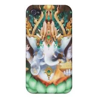 Galactik Ganesh Iphoneの場合 iPhone 4 Cover