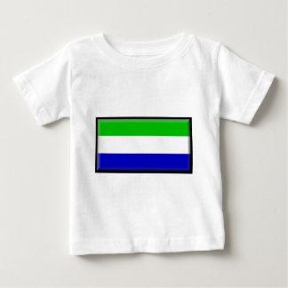 Galápagosの島(エクアドル)の旗 ベビーTシャツ