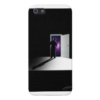 GalaxicのドアのIphone 5の場合 iPhone 5 ケース