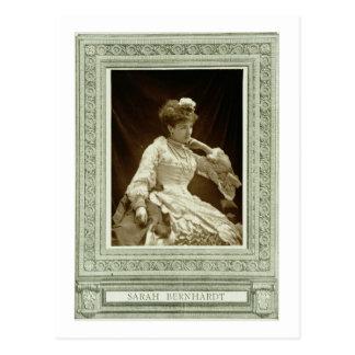 「Galerie Contempからのサラ・ベルナール(1844-1923年)、 ポストカード