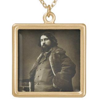 「Galerie ContemporからのダニエルVierge (1851-1904年)、 ゴールドプレートネックレス