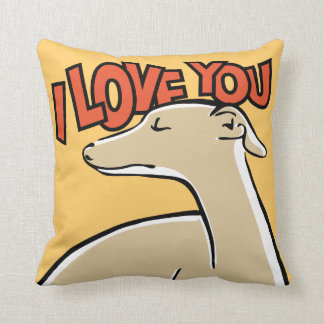 Galgo I love you クッション