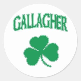 Gallagherのアイルランド語 ラウンドシール