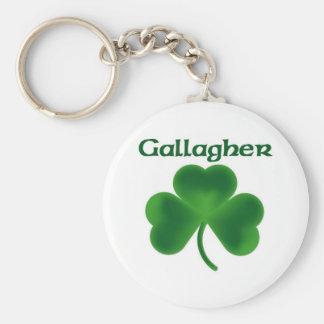 Gallagherのシャムロック キーホルダー