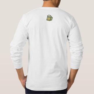 Gallagherのビールガイドの長袖のティー Tシャツ