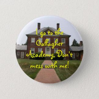 Gallagherの女の子ボタン 5.7cm 丸型バッジ