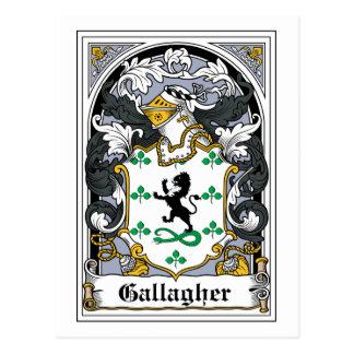 Gallagherの家紋 ポストカード