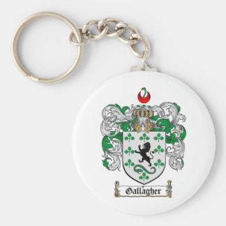 GALLAGHERの家紋- GALLAGHERの紋章付き外衣 キーホルダー