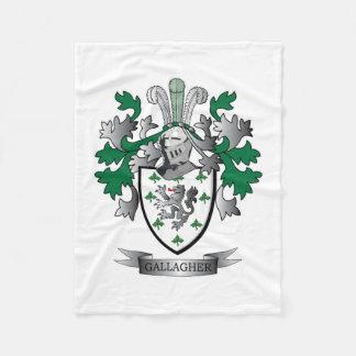 Gallagherの紋章付き外衣 フリースブランケット