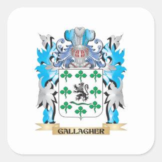 Gallagherの紋章付き外衣-家紋 スクエアシール