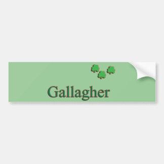Gallagher家族 バンパーステッカー