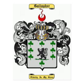 gallagher ポストカード