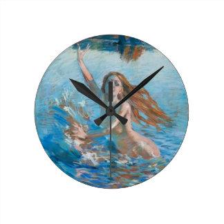 Gallen-KallelaのAinoの柱時計 ラウンド壁時計