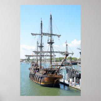 Galleonの船 ポスター