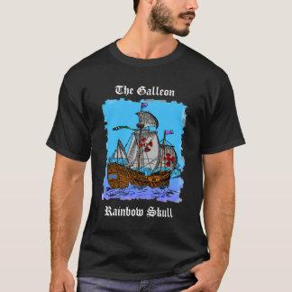 Galleonの虹のスカル Tシャツ