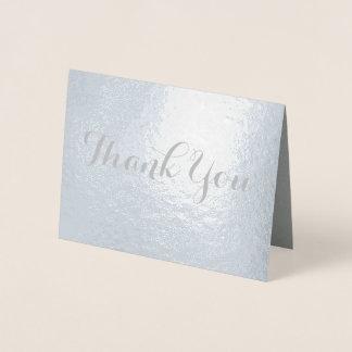 Galligraphyのシックなフォントは感謝していしています 箔カード