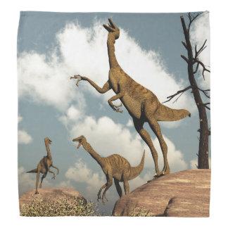 Gallimimusの恐竜- 3Dは描写します バンダナ