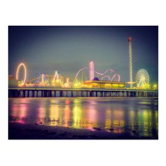 Galvestonの喜び桟橋 ポストカード