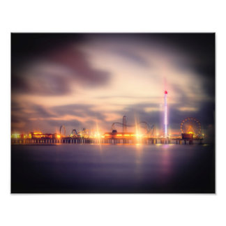 Galvestonの夜明け前 フォトプリント