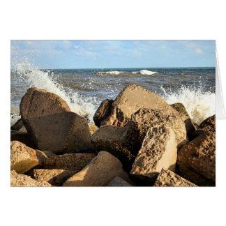 Galvestonの防波堤 カード