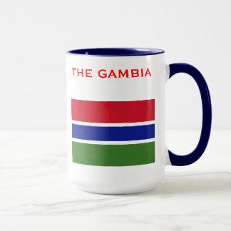 GAMBIA*-マグ旗及び紋章付き外衣 マグカップ