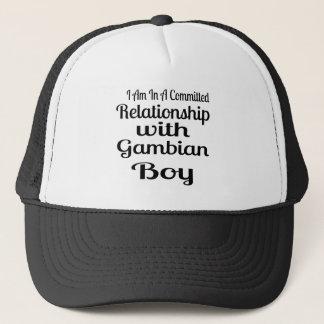 Gambian男の子との人間関係 キャップ