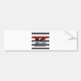 GAMEa.jpgのロゴの背部 バンパーステッカー