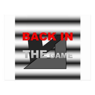 GAMEa.jpgのロゴの背部 ポストカード