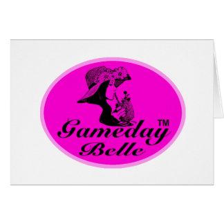 Gamedayの美女のギフト及び服装 カード