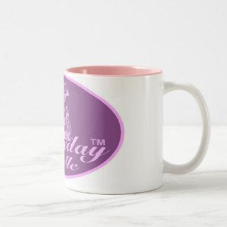 Gamedayの美女のツートーンマグ ツートーンマグカップ