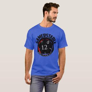 Gamerstableのポッドキャストd12のロゴ Tシャツ