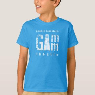 Gammの劇場-青年基本的なTaglessのティー Tシャツ
