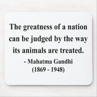 Gandhiの引用文2a マウスパッド