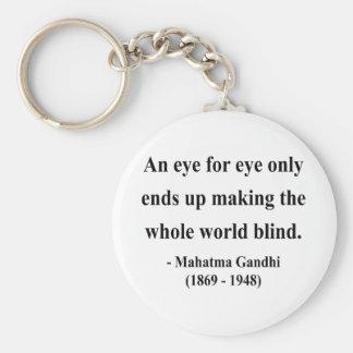 Gandhiの引用文3a キーホルダー